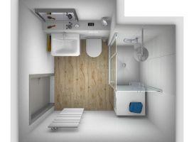 5 Qm Bad Gestalten   minimalistisches Interieur