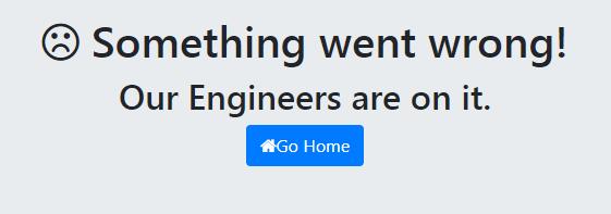 Spring Boot Custom Error Page