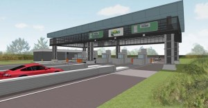 Rendering of Lake Worth Toll Plaza