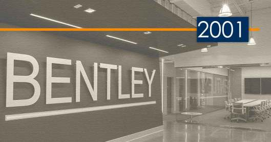 Bentley History and Development: 2001 – Another New Public Works Niche