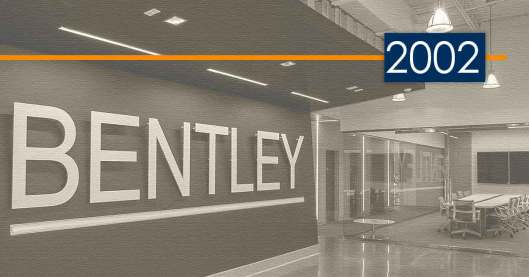 Bentley History and Development: 2002 – A New Record