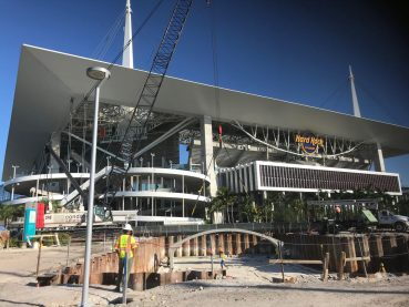 Bentley and Condotte America, Inc. awarded contract with the City of Miami Gardens for Hard Rock Stadium