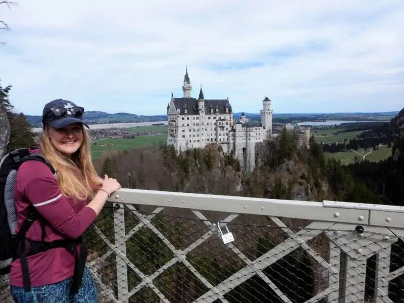 Schloss Neuschwanstein im April