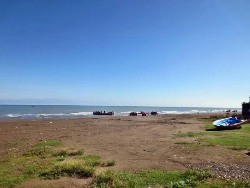 Das Kaspische Meer im Iran