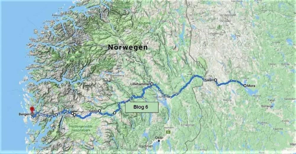 Tour durch Schweden und Norwegen