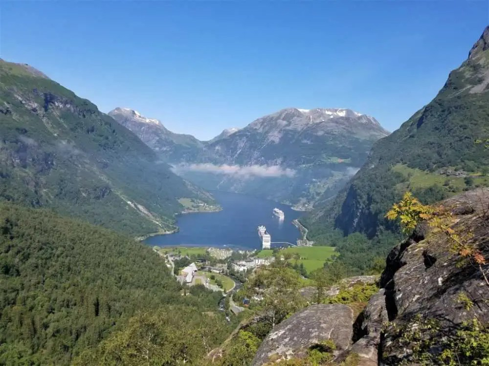 Geiranger Fjord. Der Massentourismus in Norwegen