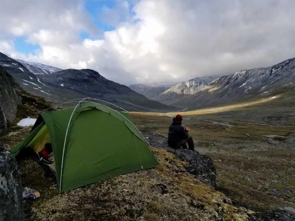 Zelten im Nationalpark Jotunheimen