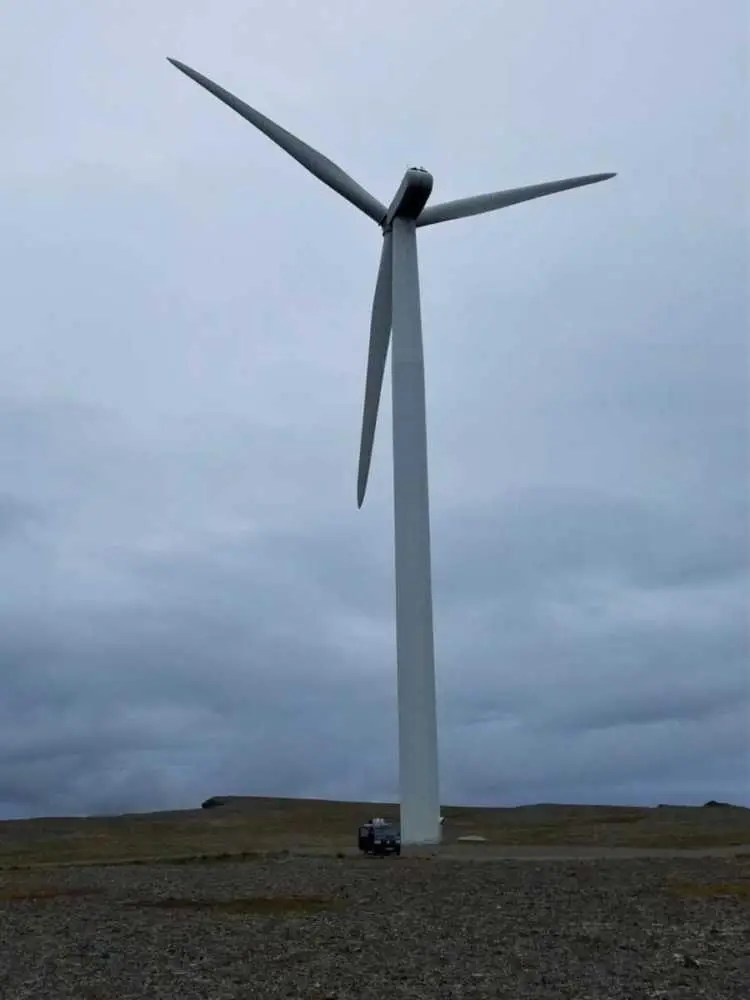 Windpark am Arctic View