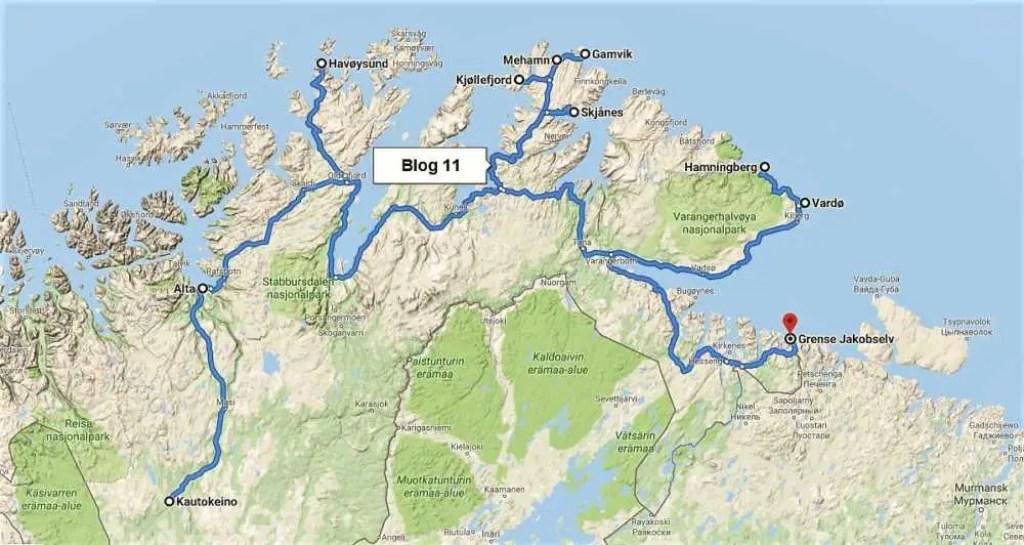 Unsere Reise durch die Finnmark