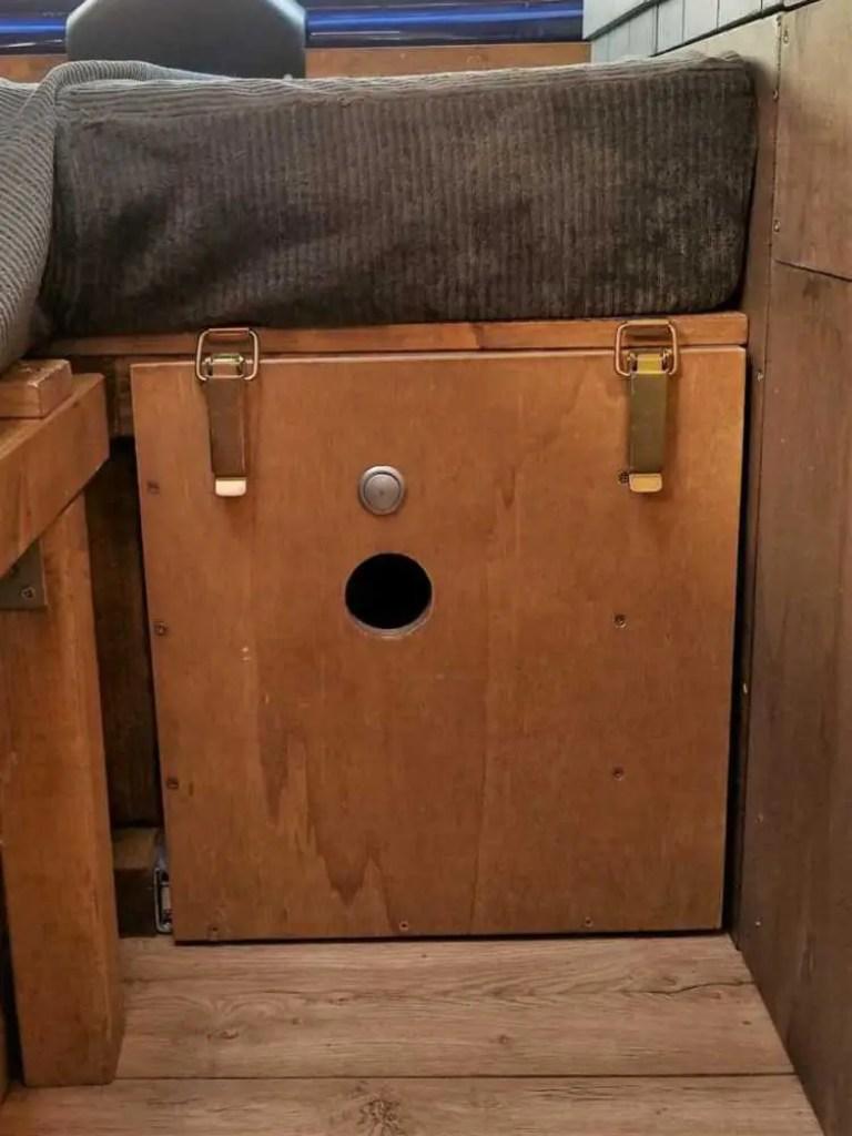 Schublade im Camper sichern