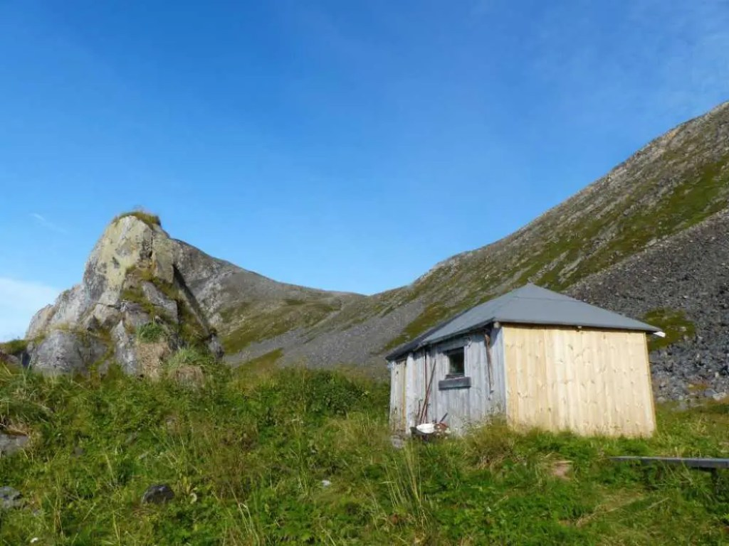Schutzhütte am Kinnarodden