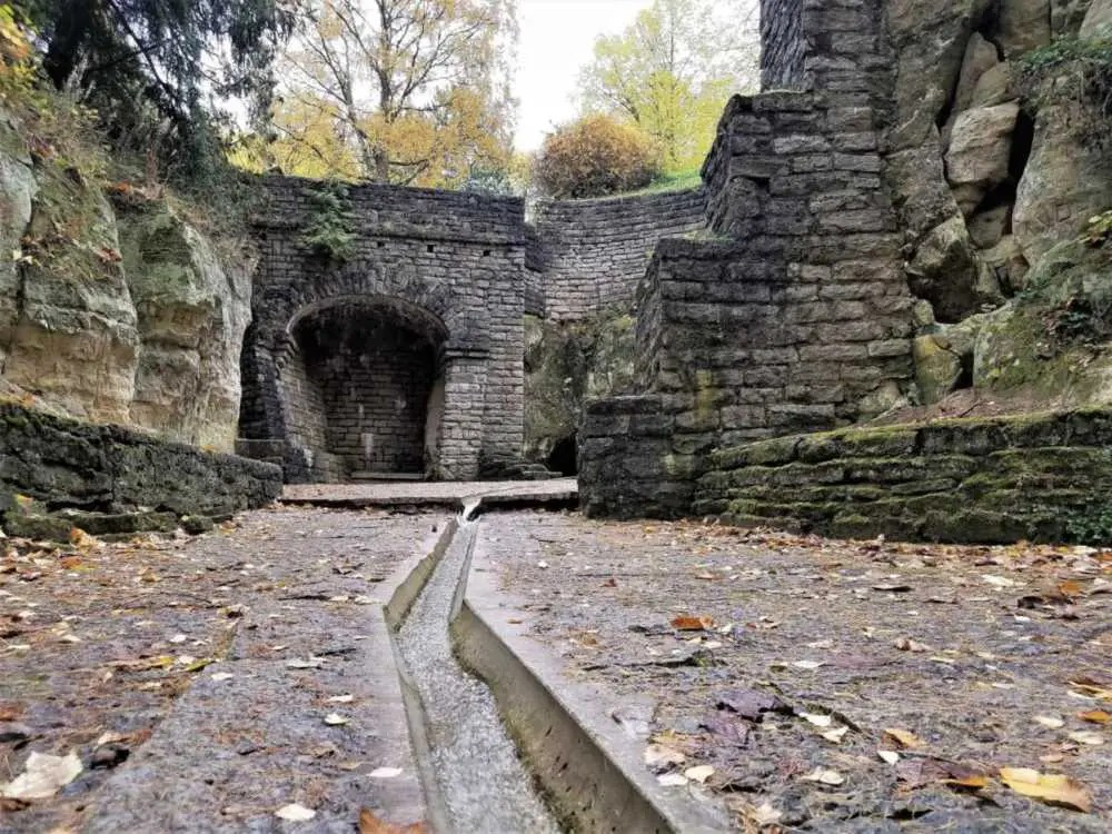 Ruine in Estland