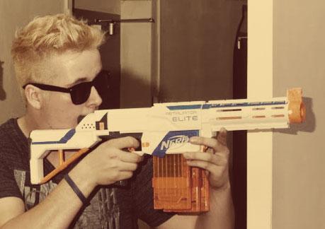Nerf Blaster Retaliator