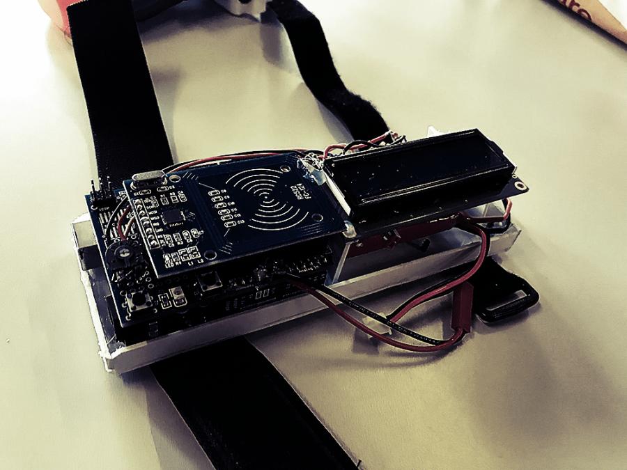 Das Arduinoboard ohne Abdeckung