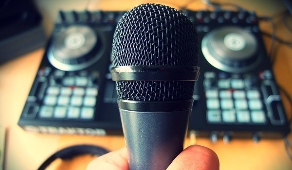 Micrófono Micro Traktor Baffle DJs