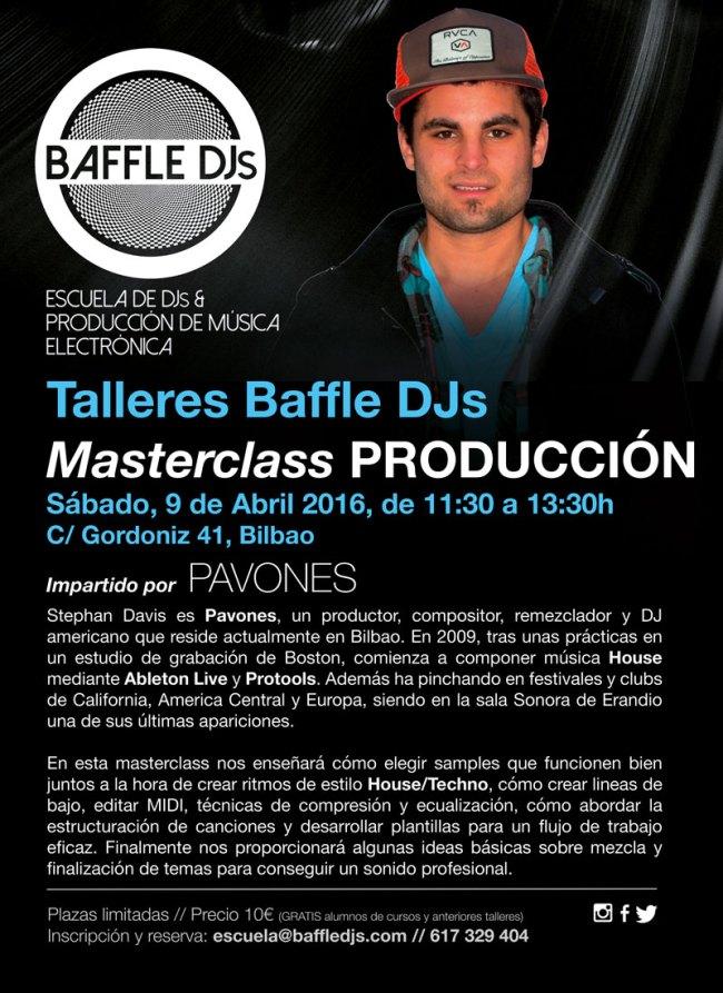 Masterclass producción