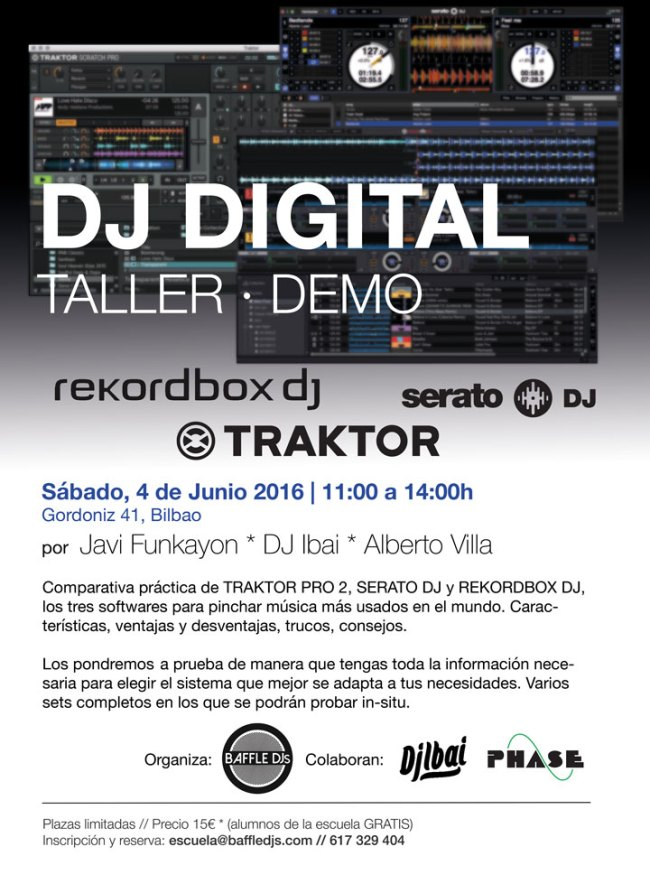 Taller DJ Digital