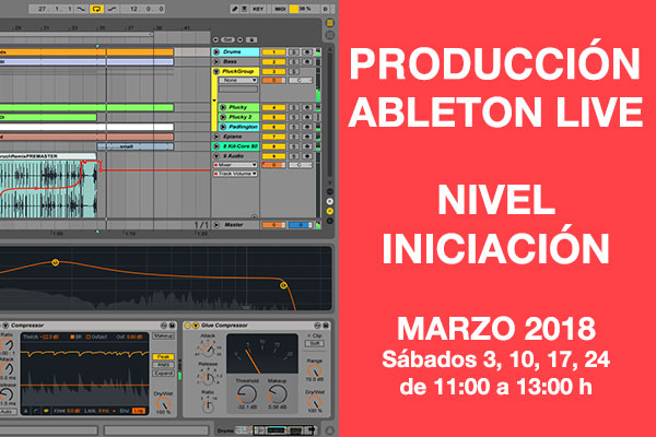 curso iniciacion produccion ableton live