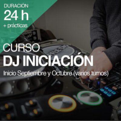 Curso DJ Iniciación 24 horas