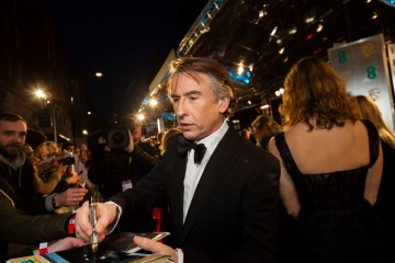 Steve Coogan on the red carpet