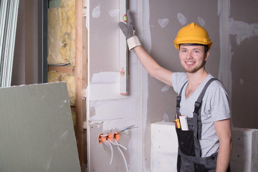 Handwerker-arbeitssicherheit