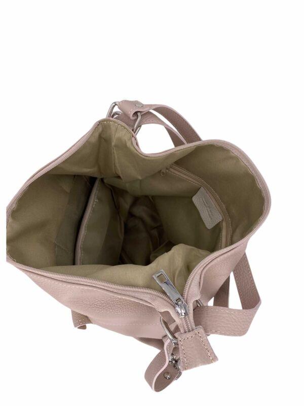 prodotto artigianale Borsa Zaino donna in vera pelle Aria Bag Passion