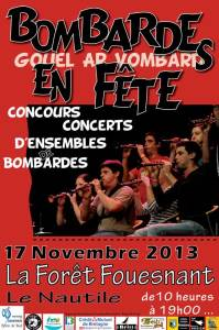Affiche concours Fouesnant 2013