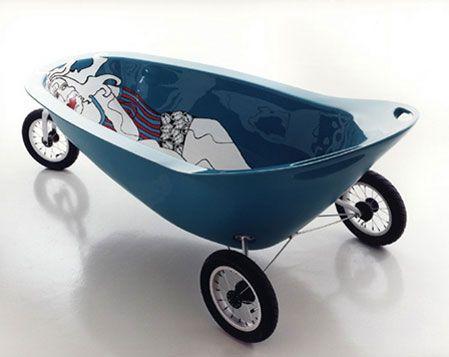 reutilizar banheira de bebe