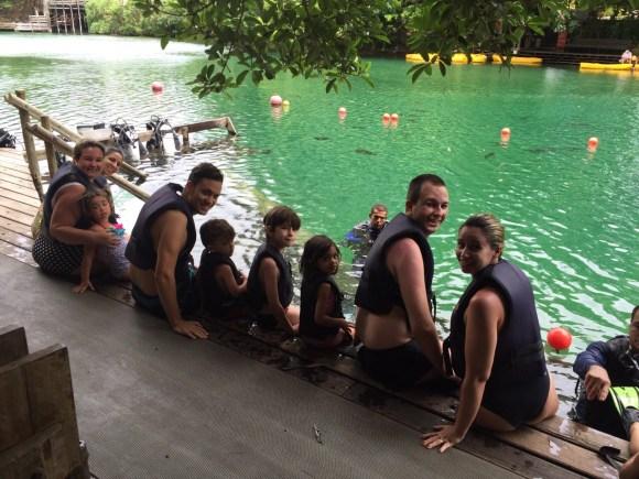 mergulho hot park