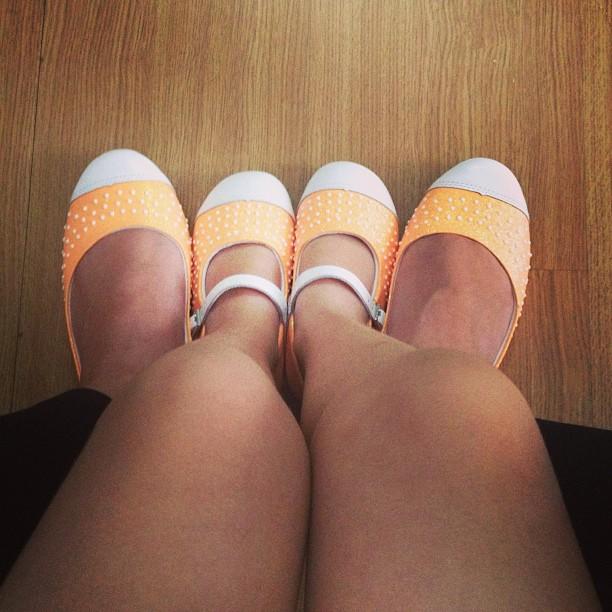 sapatilhas mae e filha