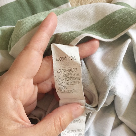malha de algodão