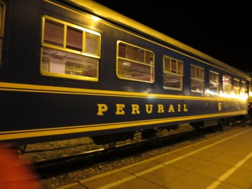 O trem do Peru