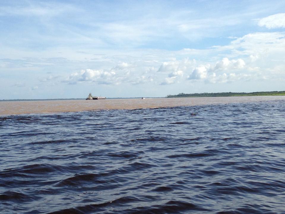Encontro das aguas - Manaus
