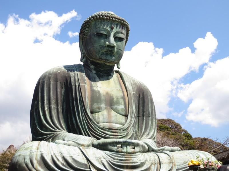 Daibutsu, o buda gigante de Kamakura