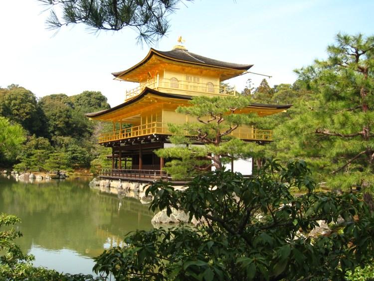Kinkaku-ji, o templo dourado, Kyoto