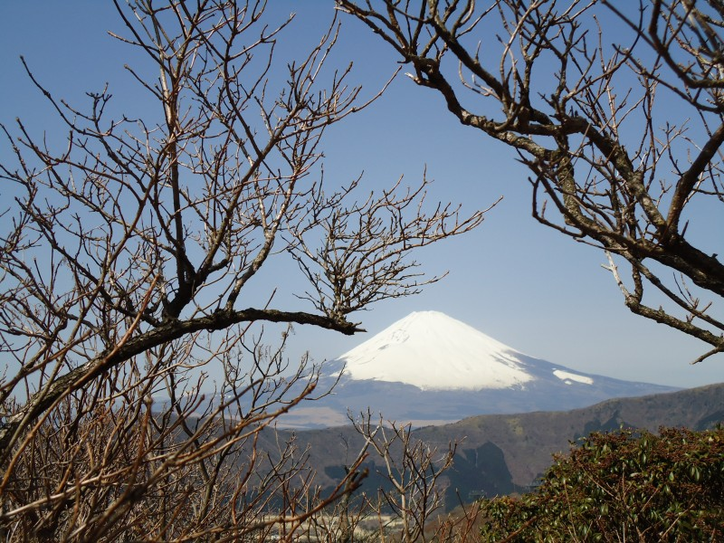 Monte Fuji visto de Hakone