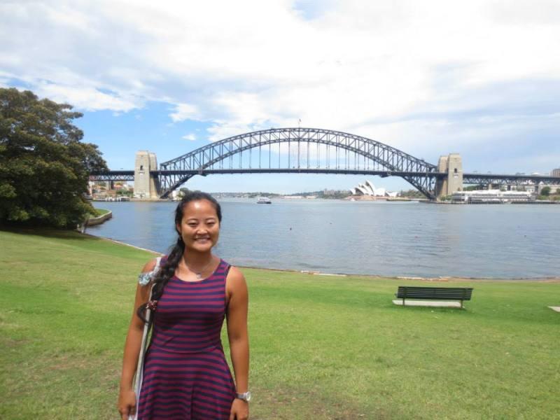Do Brasil para Rússia: Em Sydney, durante a minha volta ao mundo.