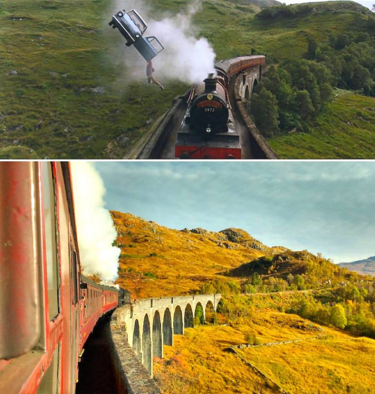 Pri Harry Potter_ Glenfinnan Viaduct