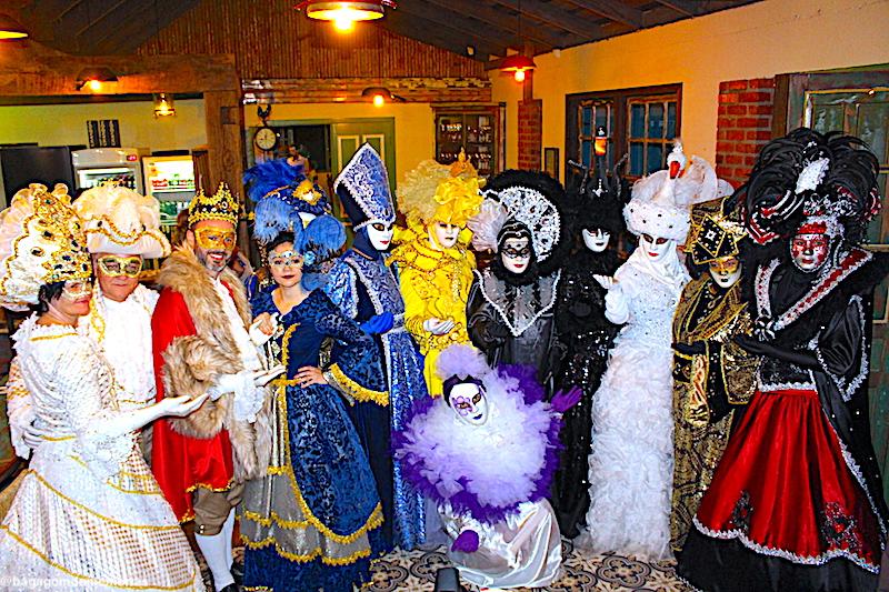 O que fazer em Nova Veneza: Uma amostra do Carnevale di Venezia, que tivemos durante o I Encontro Rota Sul.