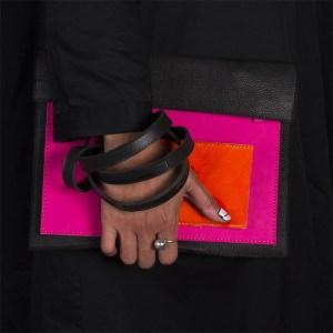 bracelet-BAGaSUTRA-rose-orange-noir
