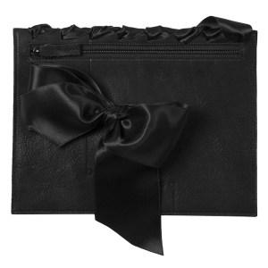 BAGaSUTRA-noeud-couture-cuir-satin-noir