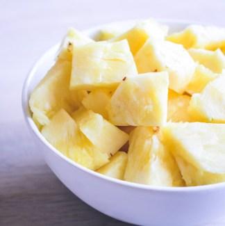 Ananas stykker