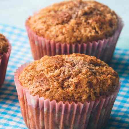Kanel muffins opskrift fra Bageglad