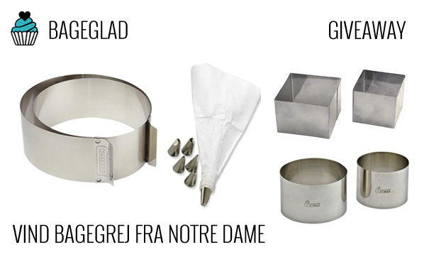 Notre Dame bagegrej giveaway fra Bageglad.dk