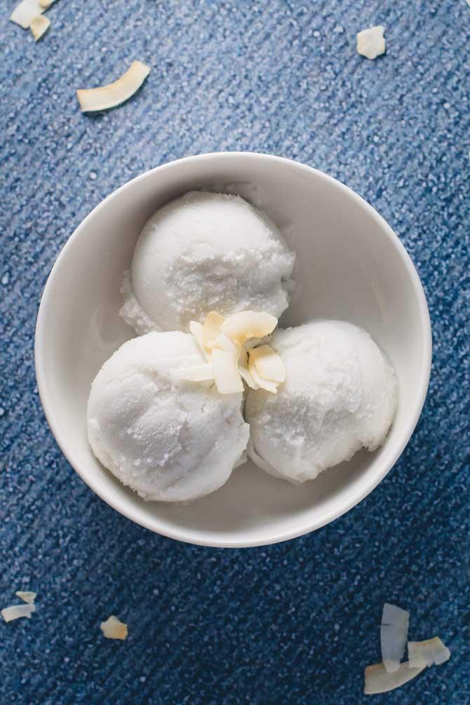Kokos is opskrift fra Bageglad