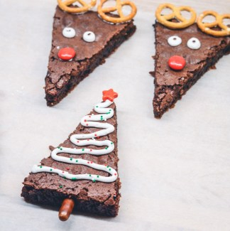 Dekorere brownies