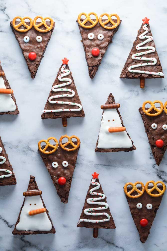 Brownies til jul fra Bagegla