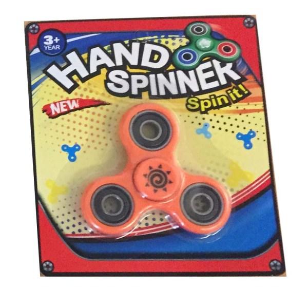 Hand spinner finger spinner ny i förpackning - Orange