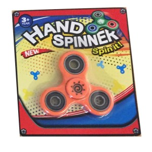 Hand spinner finger spinner ny i förpackning - Orange
