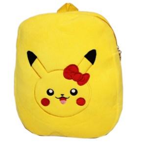 Läcker ryggsäck i plysch med Pokemon Pikachu 30x33 cm